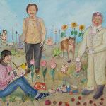 ひだまりの中で Sunny day/80.5×100.0cm/2006