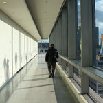 こんにちはこんにちはごっこ Hello game/愛知芸術文化センター展望回廊/2012
