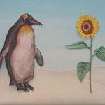 ペンちゃんの夢 Dream of penguin/22.0×27.5cm/2007