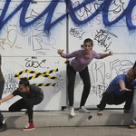 DanceAbility Performance im Museumsquartier Wien; DanceAbility Teacher Certification 2014