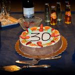 La torta dei trent'anni.
