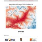 Prospective climatique dans l'Embrunais, étude réalisée par GeographR, 2014