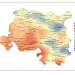 Modélisation du climat présent et futur de la métropole Aix-Marseille-Provence, réalisation GeographR