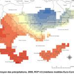 Profil climatique du Parc national de Port-Cros, réalisation GeographR