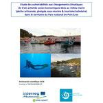 Etude des vulnérabilités aux changements climatiques de 3 activités socio-économiques liées au milieu marin dans le Parc naturel de Port-Cros, GeographR, 2018