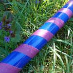 glossy blue + gaffa lila