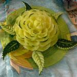 fleurs en melon jaune - 15 €