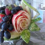 Corbeille de fruits en pastèque - 40€