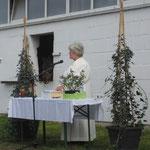Pferdegottesdienst: Frau Irene Bronder