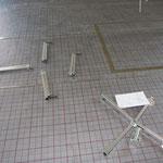 Der ordnungsgemäße Zusammenbau der Rohrhaspel war eines der längeren Projekte an diesem Tag. ;-)