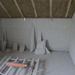 Heraus kamen vor allem viele unterschiedliche geometrische Formen beim Abschnitt.