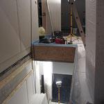 Hier die abgestellte Kelleröffnung.