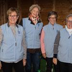 zum letzten Mal als Serviceteam dabei: Frauenverein Niederuster