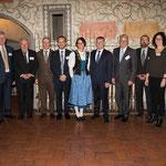 Ustertag-Komitee zusammen mit Hauptredner Regierungsrat Ernst Stocker und Gattin