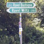 Abzweig nach Wiltz