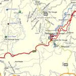 Track Linha do Vouga, Sernada do Vouga bis Ribeiradio und zurück