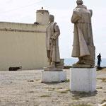 Statuen der Entdecker