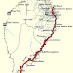 Track; von Rolas nach Cidade