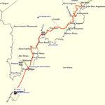 Track; von São João Angolares nach Rolas
