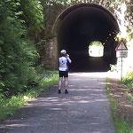 Tunnel bei Schleif