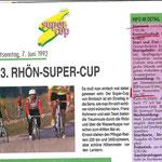 Info zum Rhön-Super-Cup 1992