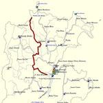 Track; Wanderung von Santo Antonio nach Praia Ribeira Izê