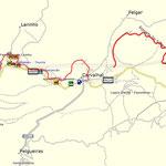 Track Ecopista do Sabor, die Lücke haben wir mit unseren Blicken geschlossen;-)