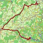 Etappe 5: Track Troisvierges - Wiltz