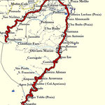 Track; vom Bombaim nach São João dos Angolares