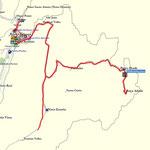 Track; von der Roça Abade nach Praia Abade und Santo Antonio