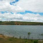 """Staussee """"Barragem de Vale Ferreiros"""" Startpunkt zur zweiten Wanderung"""