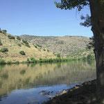Mündung des Sabor in den Douro, Foz do Sabor