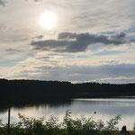 Viel See hier