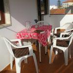 Atalaia 3 Essecke auf Balkon