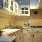 Küche, Apt. Hortas bei Zavial, Haus B