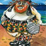 schottischer Tourist