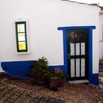Hauseingang vorne, Casa da Pedra in Raposeira