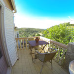 hintere Terrasse, Apt. Hortas bei Zavial