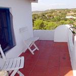 Terrasse oben, Casa Alex bei Salema