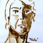 Micha (Acryl/Papier, 32 x 24 cm)