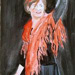 Flamenco 1 (Acryl/Leinwand, 60 x 40 cm)