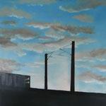 o. T. (Öl/Leinwand, 70 x 50 cm)