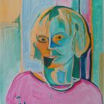 Frau Doktor K. (Öl/Leinwand, 60 x 50 cm)