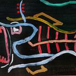 Venedig 2 (Acryl/Papier, 24 x 32 cm)