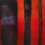 Komposition 1 (Acryl/Papier, 24 x 32 cm)