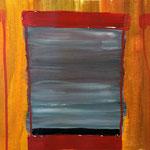 Fenster zum Hof (Acryl/Papier, 24 x 32 cm)