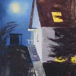 home, swæt home (Öl/Leinwand, 40 x 30 cm)
