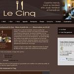 Restaurant le cinq, Montpellier (34)