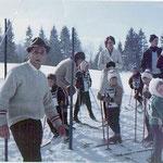 Schülerrennen 1966 mit Leherer Heigenhauser