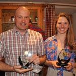 Clubmeister Alpin, Hans Klausner und Katrin Hinterholzer